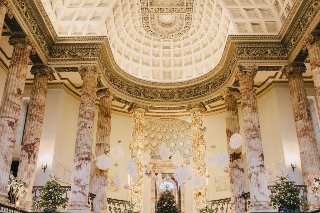 Everything you need to know about planning a Christmas wedding at Holkham