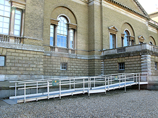Permanent access ramp