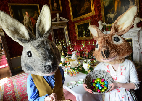 Easter Fun at Holkham, Holkham Hall, North Norfolk Coast | Calling all Easter bunnies. Hop along and join us for an egg-citing time! | easter, family, children's