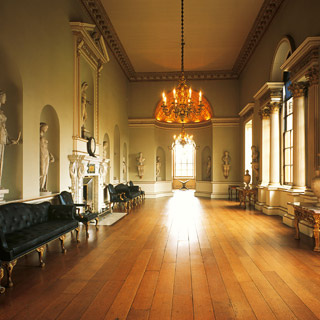 The Statue Gallery at Holkham is possibly the most complete collection of classical antique statuary in a British private house