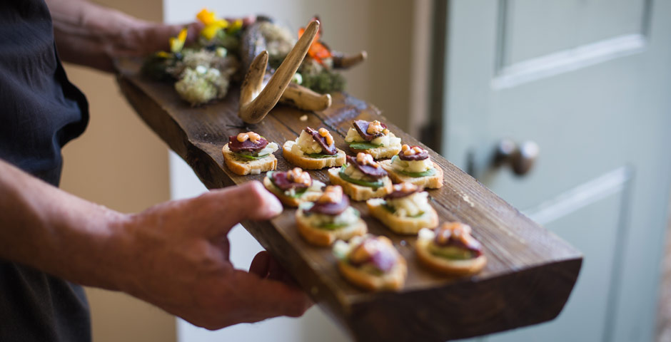 Holkham Weddings' suppliers are carefully chosen for the quality of the food, competitive pricing and friendly and helpful service