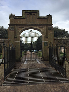 North gates and cattle grid