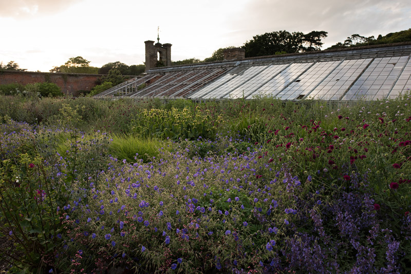The Messenger Building in the Walled Garden, Holkham