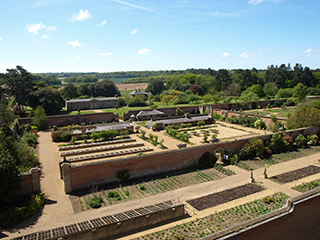 Overview of gardens